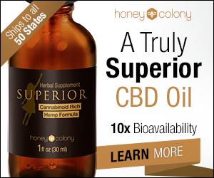 Honey Colony Superior CBD oil