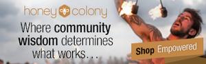 Honey Colony homepage