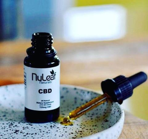 Nuleaf Naturals CBD Oil 725mg full spectrum