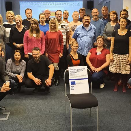 Zaměstnanci věznic ČR se zúčastnili sedmidenního školení k pilotnímu projektu GLM