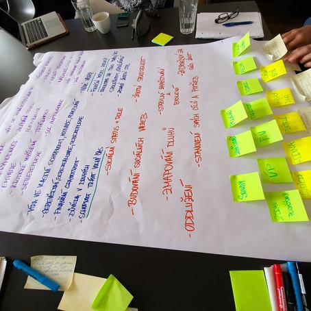 Workshop dluhového poradenství: společně tvoříme nové věci, které mají smysl