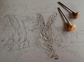 Harvest Hare lino.jpg