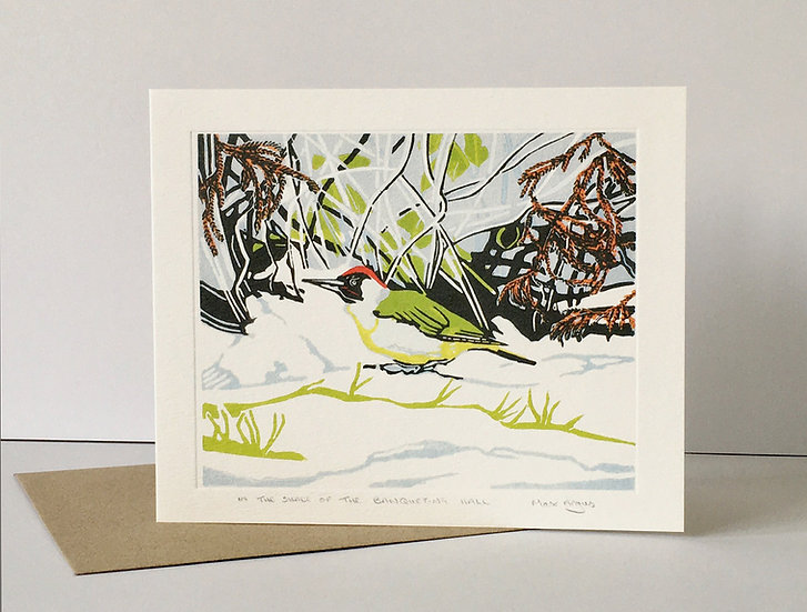 In the shade of the Banqueting Hall - Winter Printmakers Published by Art Angels