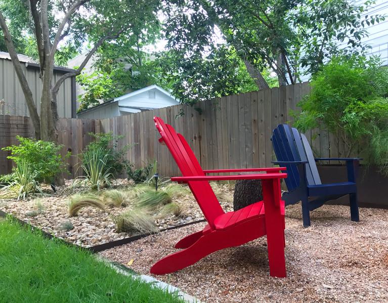 a texas backyard