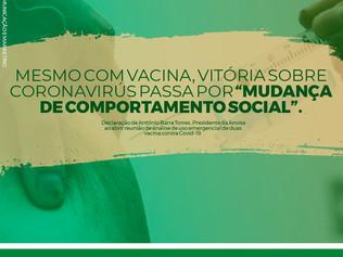 """""""A vitória sobre o coronavírus passa por mudança de comportamento social"""""""