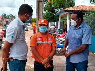 Visita solidária ao município de Ipixuna