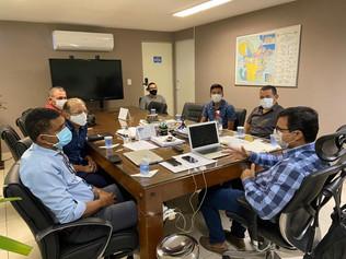 Dr. Jaques visita a SEMAS, buscando melhor infraestrutura para a agricultura do município de Curuçá