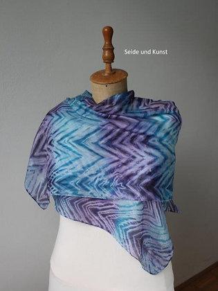 Verwoben in Blau und Violett