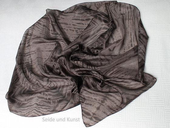 Dunkle Schokolade - Shibori