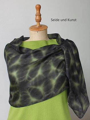 New Shibori - Schwarz und Grün