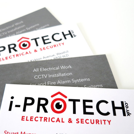 i-Protech logo, business cards, livery and advertising