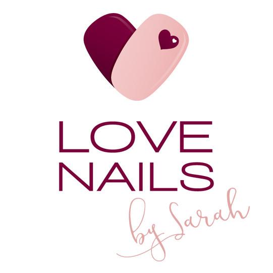 Love Nails logo and loyalty cards