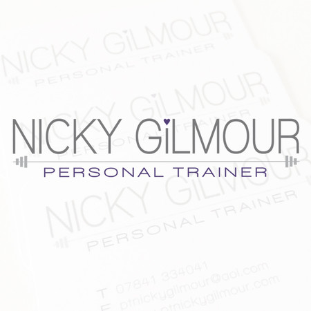 Nicky Gilmour PT logo, stationery and advertising