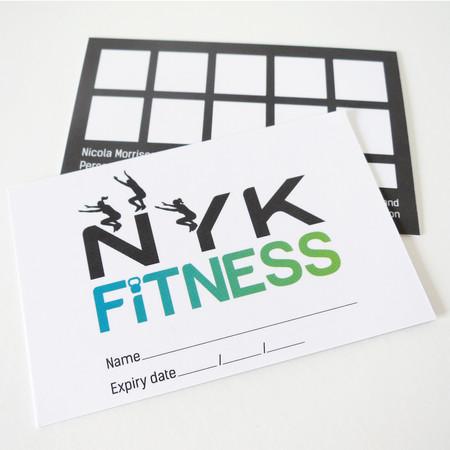 NYK logo and loyalty card