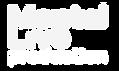 Mental Live Production Logo blanc png co