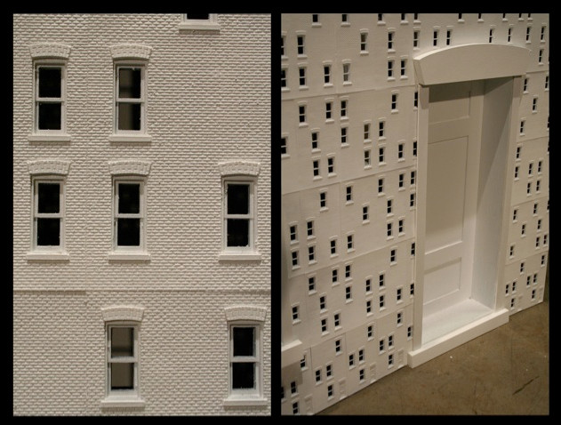 Model: Rowhouse (detail)