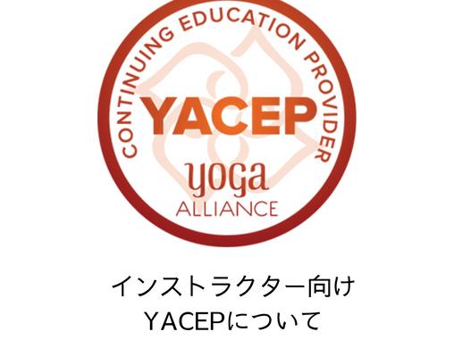 全米ヨガアライアンス継続教育講座 (YACEPって何?)