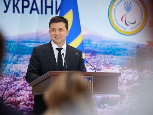 Володимир Зеленський зустрівся з українськими паралімпійцями