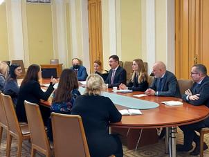 В Офісі Президента України відбулася зустріч з представниками Ради з питань конкуренції Румунії