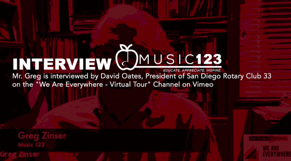 Mr. Greg is Interviewed About the Music 123 Program