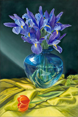 Blue Reflections - SOLD