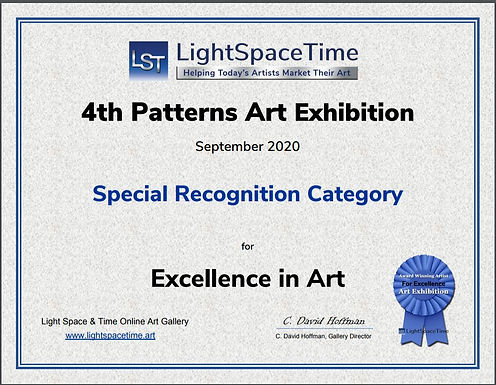 Special Recognition Award