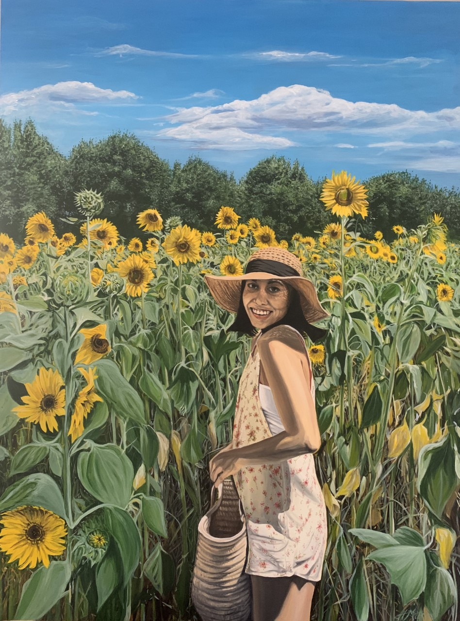 Sophia in Sunflowers