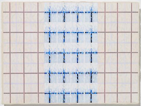 Relationship 20-R-2, 58×79cm, 한지 위에 Acri