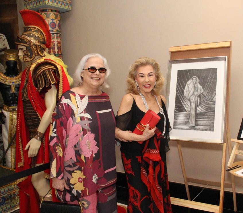 Hildegard Angel e Mariza Coser