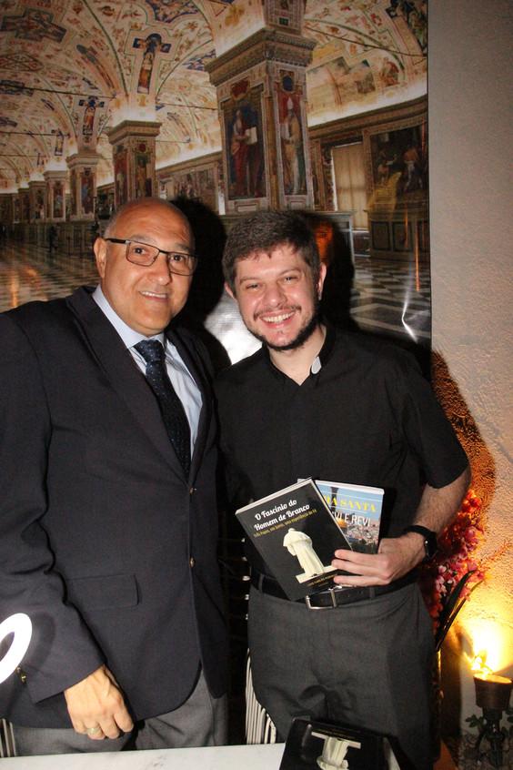 Luiz Carlos Pugialli e pde Tiago