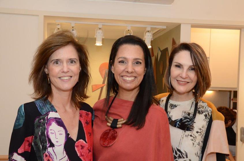 Cristina Paulino, Lise Leal e Toia Leman