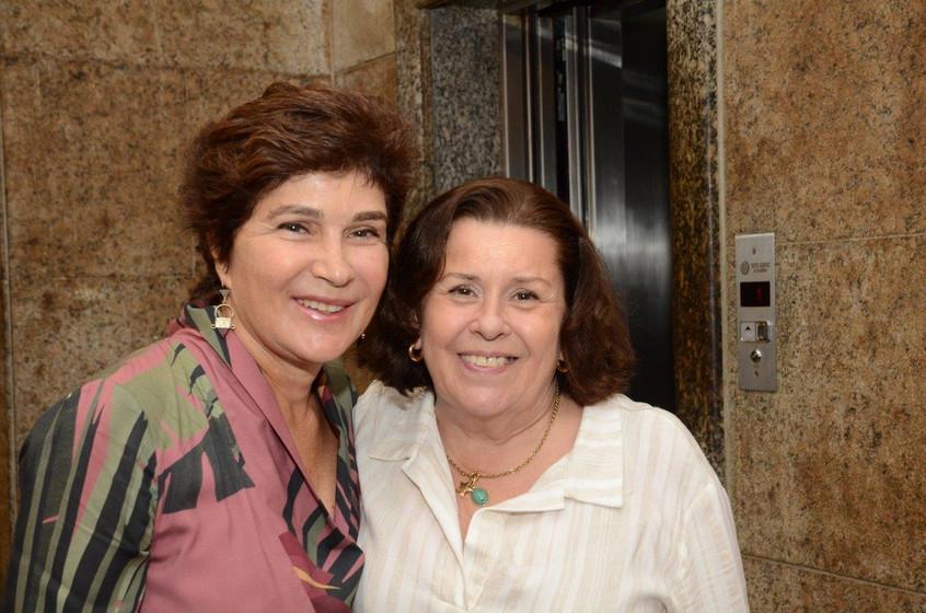 Nina Almeida Braga e Lilian Horllander