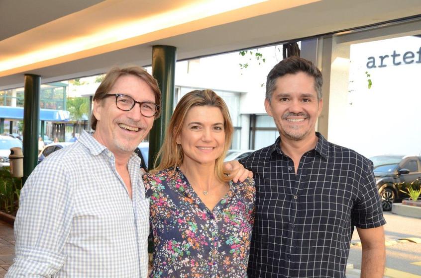 Francisco Amorim, Flavia Marcolini e Ric