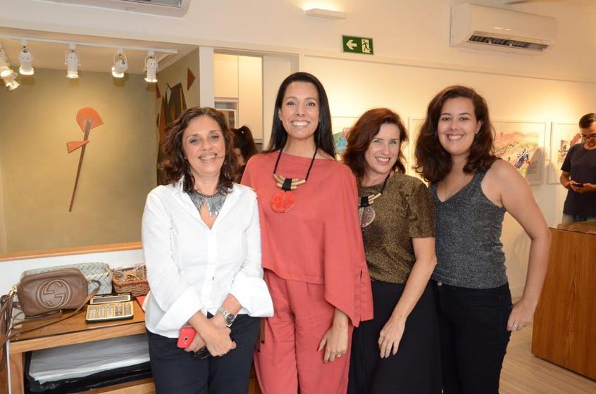 Cristina Rocha, Lise Leal, Chris Carvalh