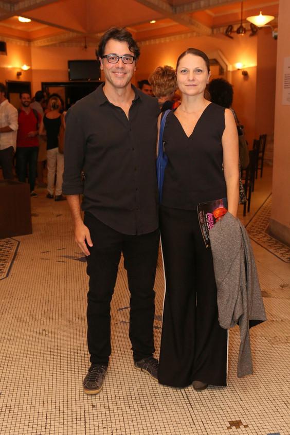 Ator Claudio lins e sua esposa Alexandra