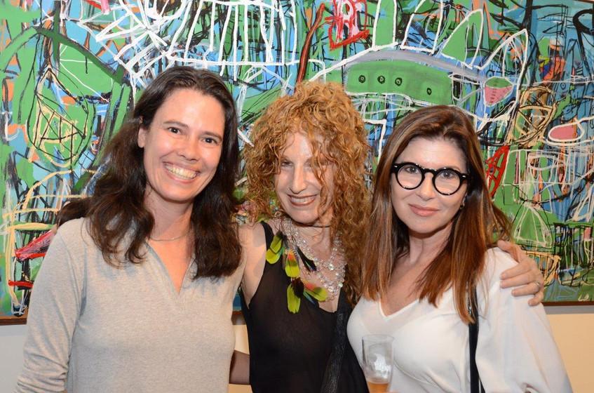 Fabiana Cunha, Susi Cantarino e Maria Lu