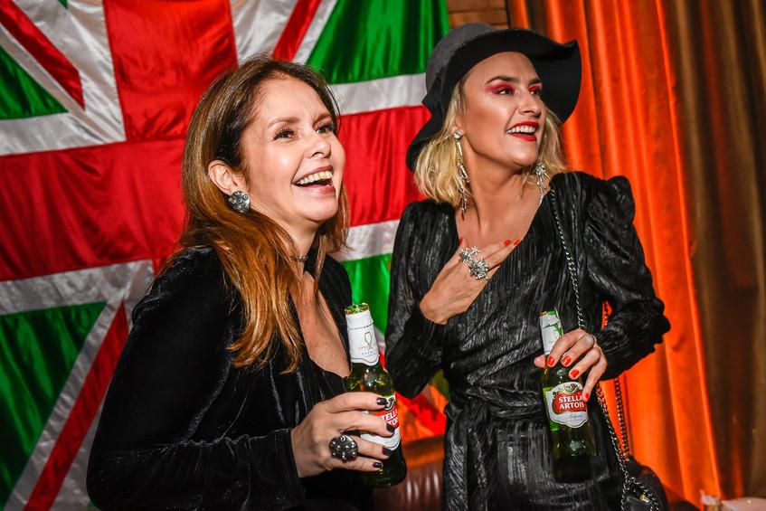 Cristine Borges e Kiara Bianca