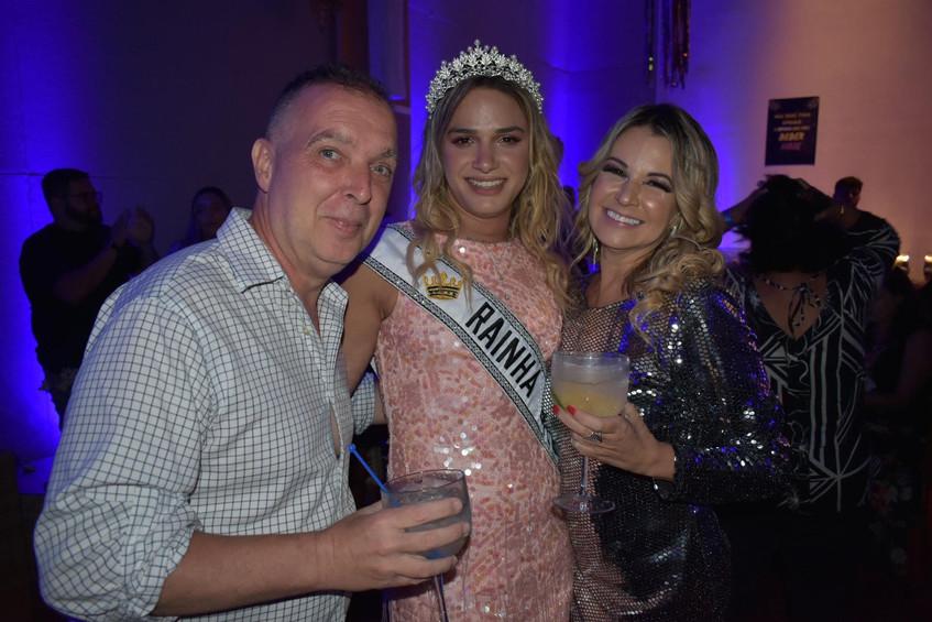 Bayard Boiteux, Glamour Garcia e Viviane