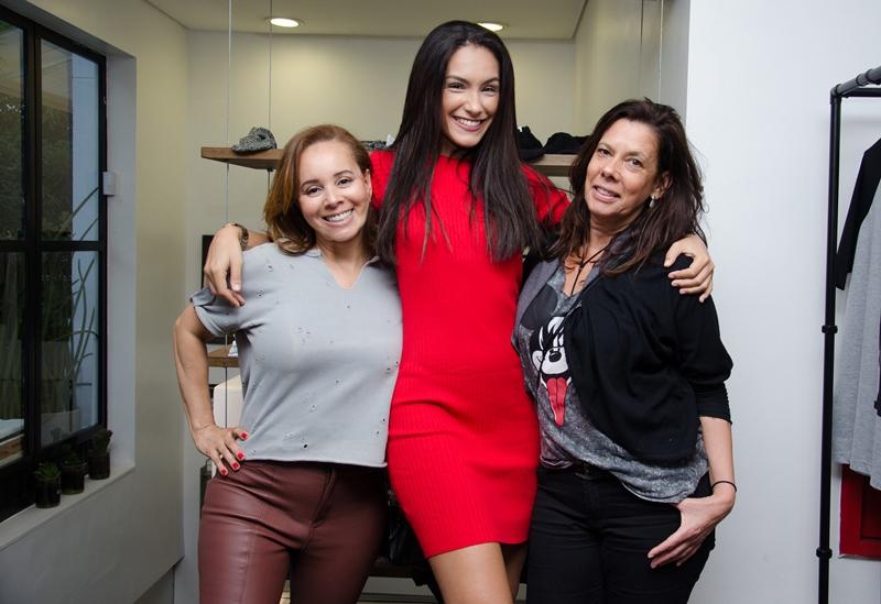 Denize Cabral, Mel e Hellen Morales