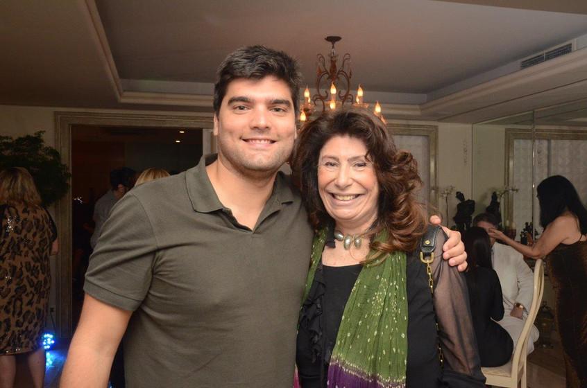 Antonio Pedro Bocayuva Cunha e Anna Mari
