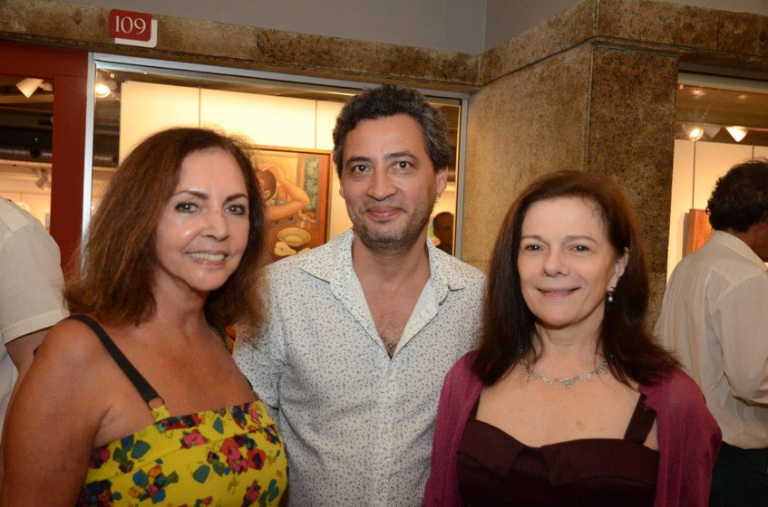 Nilga Chamoun, Nelson Muniz e Tessy Call
