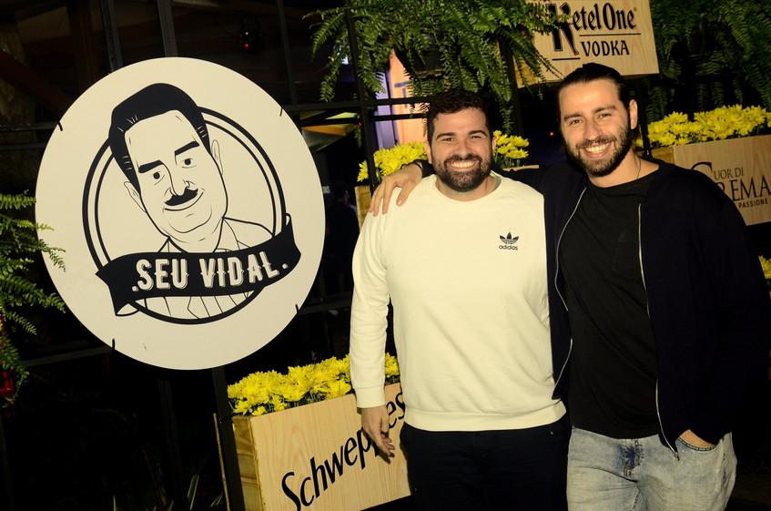 Eduardo Brasil e Pedro Beloniel