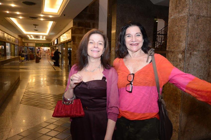 Tessy Callado e Viviane Kikoler