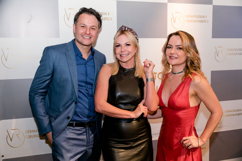 Flavio Rezende, Nina Kauffmann e Aline V