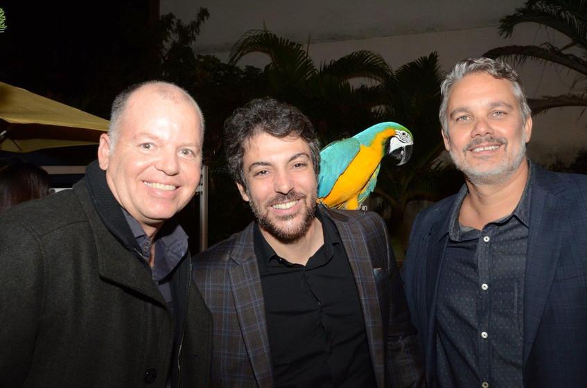Fabiano Leal, Vitor Azulay e Omar Lupi