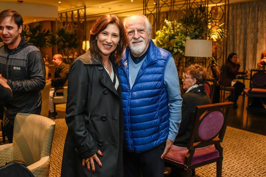 Beth Goulart e Ary Fontoura