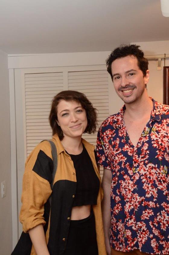 Maria Lynch e Daniel Lannes