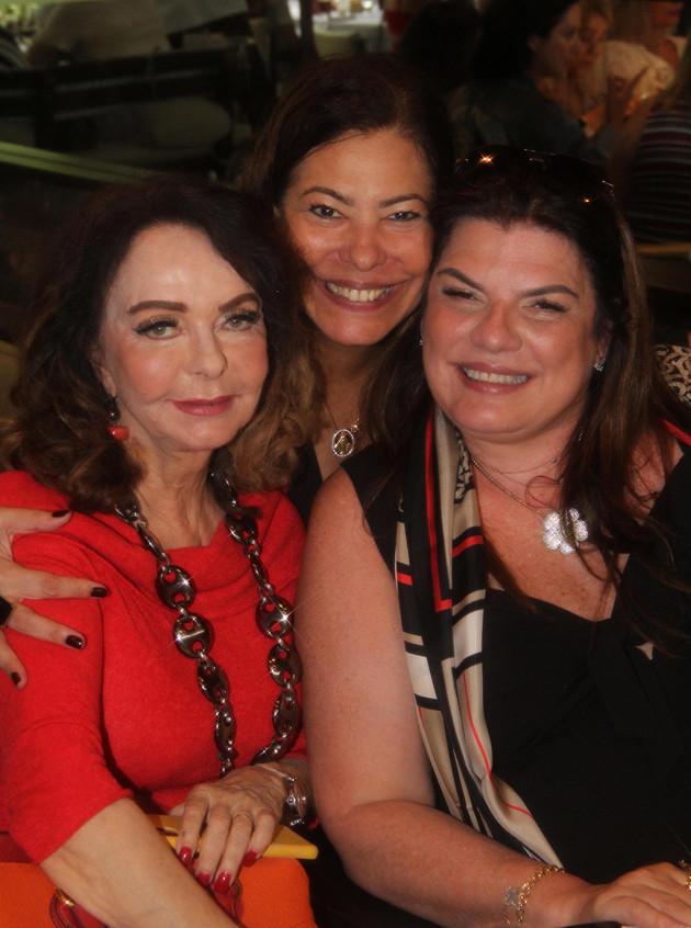 Vera Loyola, Claudia Cury e Ana Cristina
