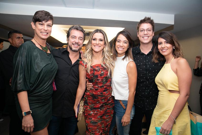 Maria Paula, Carlos Vieira, Ingrid Guima