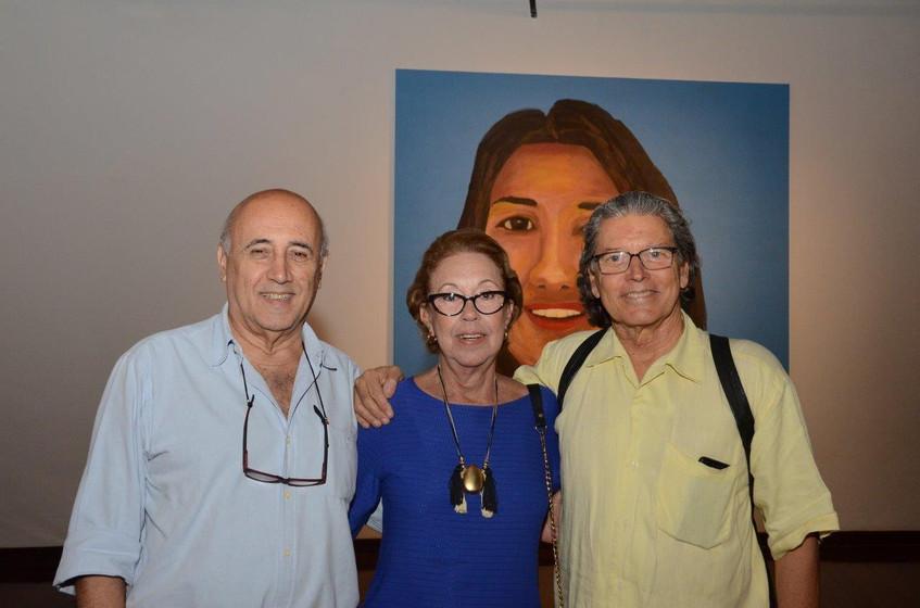 Eduardo e Tereza Weaver  e Fernando Bicu